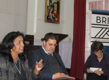 Ms Venessa Moodley, Mr Colin Northmore and Professor Pam Christie
